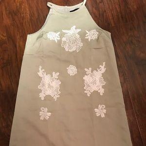 Victoria Beckham for Target Dresses - 🆕Victoria Beckham f/Target- tan w/appliqué dress